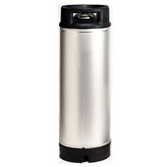 CONTAINER inox 18.7 L Soda Keg type NC Neuf (2679)